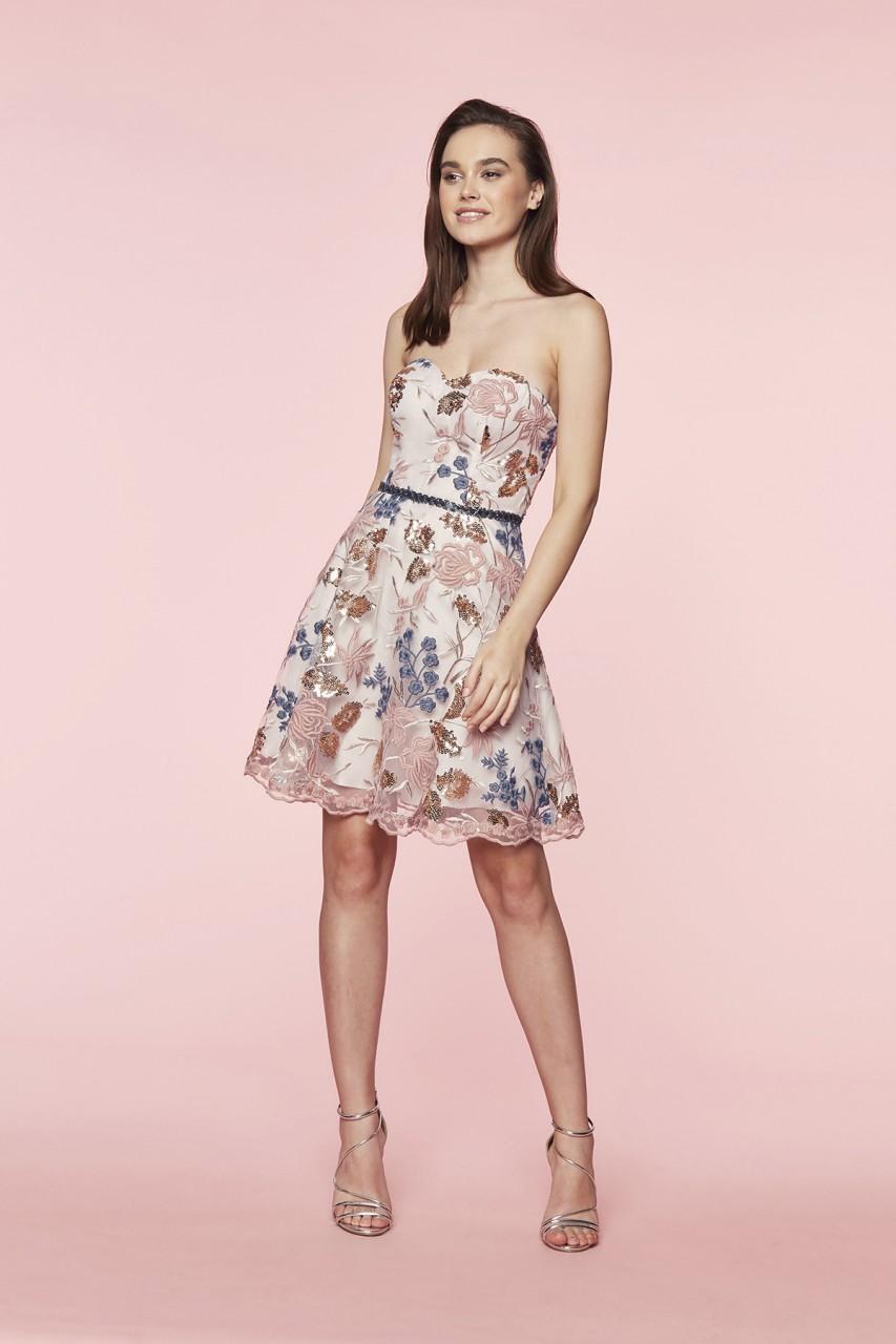 FLOWER BOUQUET DRESS