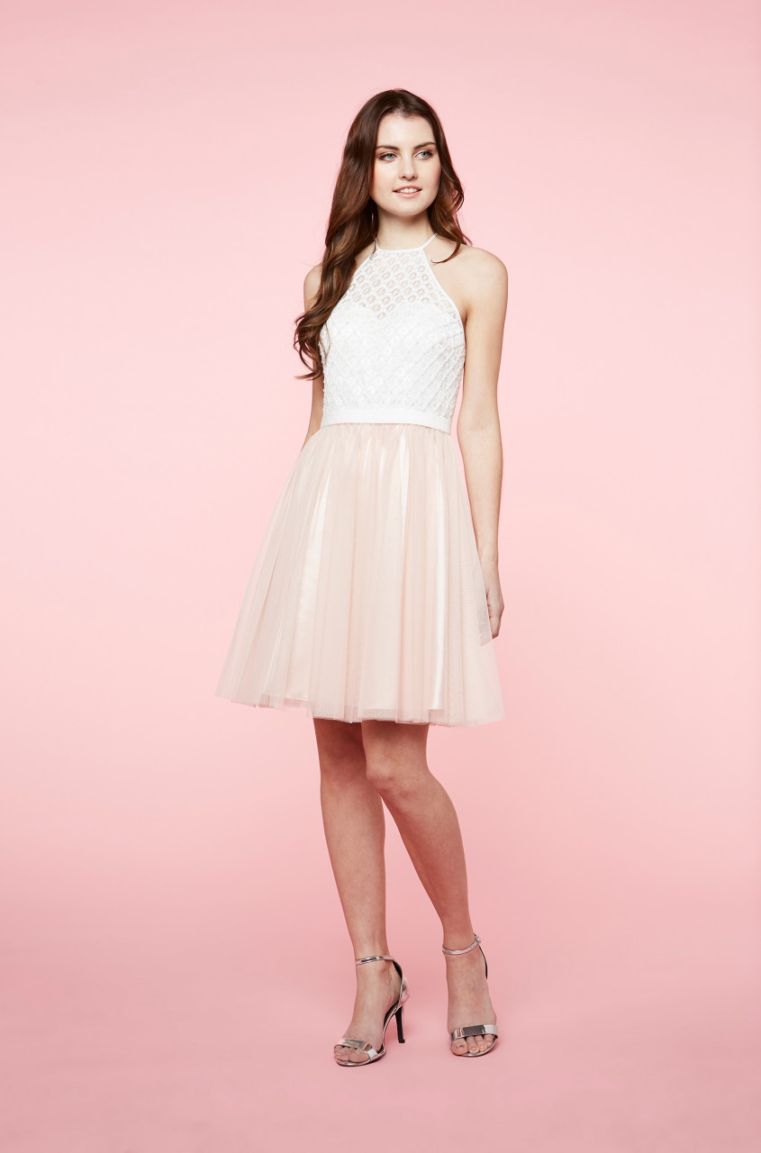 Fairy Two Tone Dress