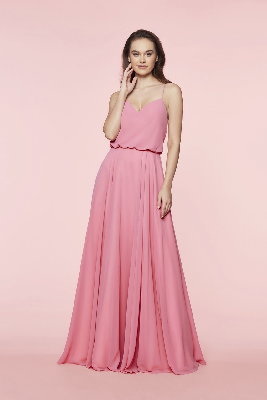 FLOATY CHIFFON DRESS