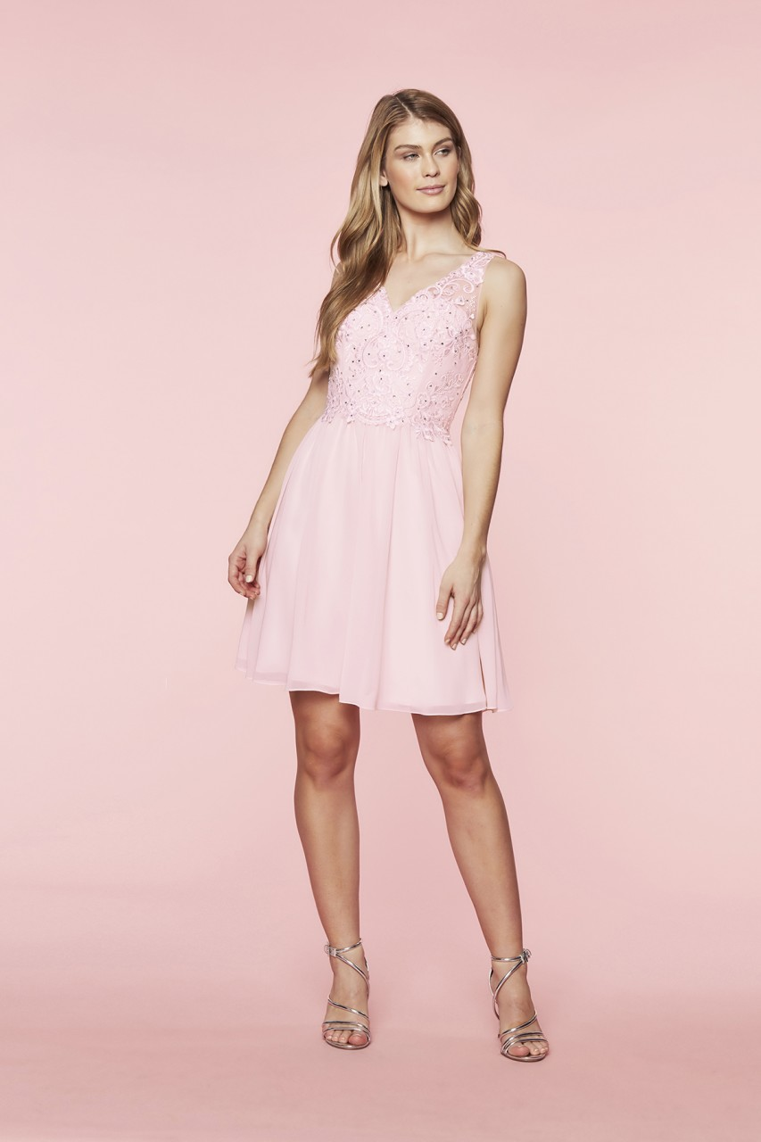 PRETTY CHIFFON DRESS