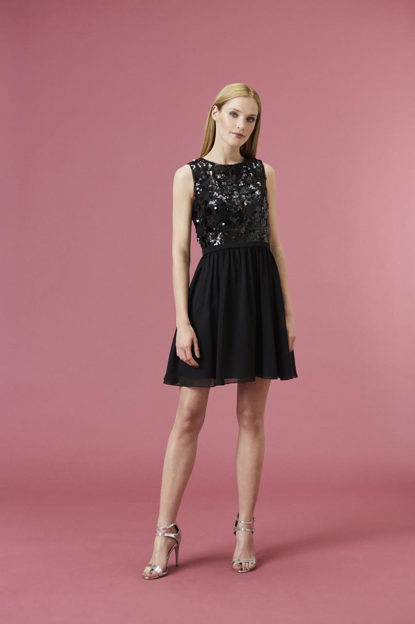 BRILLIANT BLACK DRESS